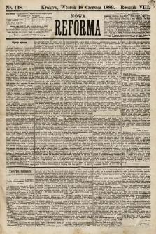 Nowa Reforma. 1889, nr138