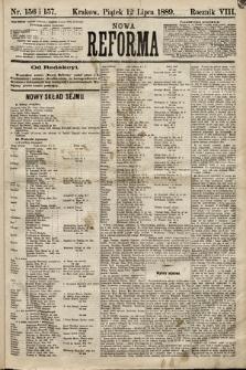Nowa Reforma. 1889, nr156 i157