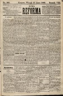 Nowa Reforma. 1889, nr160