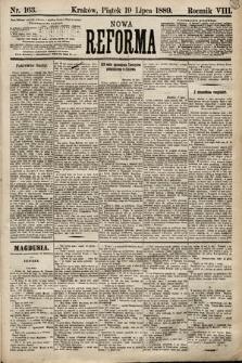 Nowa Reforma. 1889, nr163
