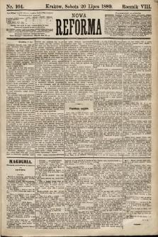 Nowa Reforma. 1889, nr164