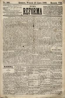Nowa Reforma. 1889, nr166