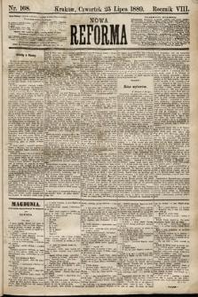 Nowa Reforma. 1889, nr168