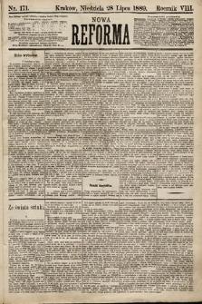 Nowa Reforma. 1889, nr171