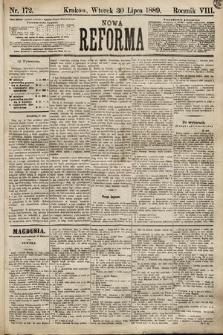 Nowa Reforma. 1889, nr172