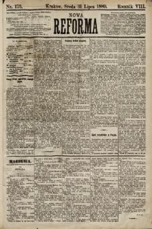 Nowa Reforma. 1889, nr173