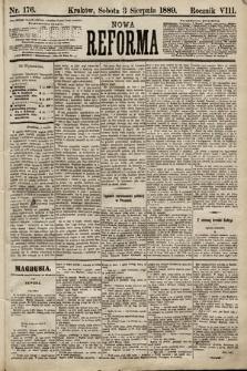 Nowa Reforma. 1889, nr176