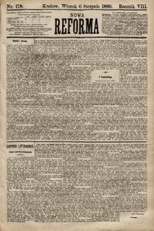 Nowa Reforma. 1889, nr178