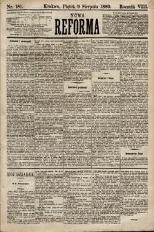 Nowa Reforma. 1889, nr181