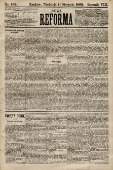 Nowa Reforma. 1889, nr183