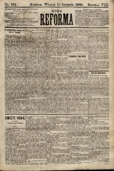 Nowa Reforma. 1889, nr184