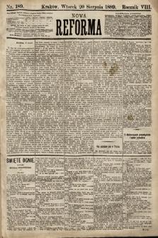 Nowa Reforma. 1889, nr189
