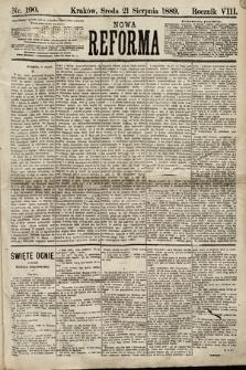 Nowa Reforma. 1889, nr190