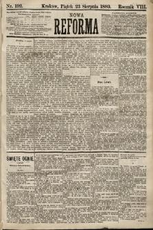 Nowa Reforma. 1889, nr192