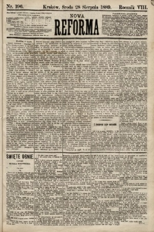 Nowa Reforma. 1889, nr196