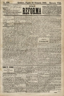 Nowa Reforma. 1889, nr198