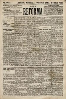 Nowa Reforma. 1889, nr200