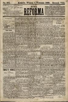 Nowa Reforma. 1889, nr201