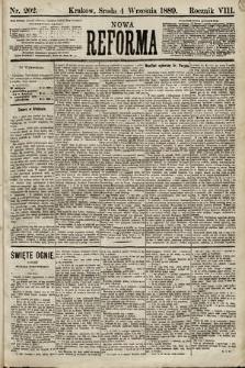 Nowa Reforma. 1889, nr202