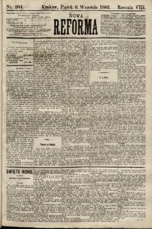 Nowa Reforma. 1889, nr204