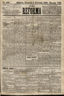 Nowa Reforma. 1889, nr206
