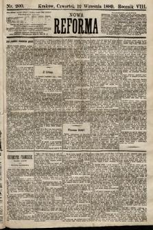 Nowa Reforma. 1889, nr209