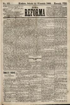Nowa Reforma. 1889, nr211