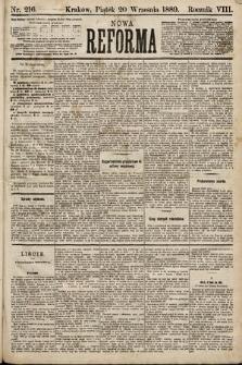 Nowa Reforma. 1889, nr216