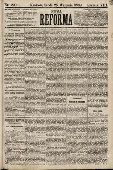 Nowa Reforma. 1889, nr220
