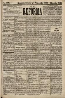 Nowa Reforma. 1889, nr223