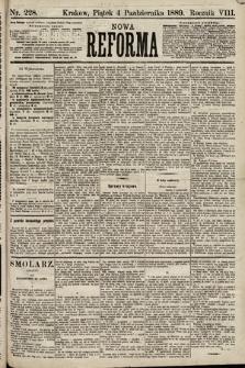 Nowa Reforma. 1889, nr228