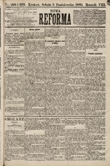 Nowa Reforma. 1889, nr228 i229