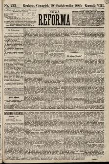 Nowa Reforma. 1889, nr233