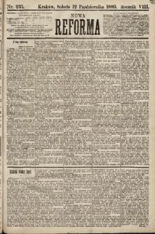 Nowa Reforma. 1889, nr235