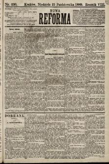 Nowa Reforma. 1889, nr236