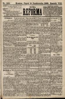 Nowa Reforma. 1889, nr240