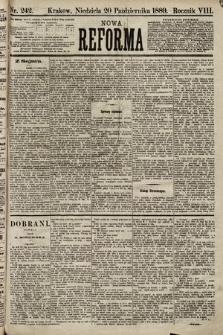 Nowa Reforma. 1889, nr242