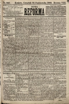 Nowa Reforma. 1889, nr245