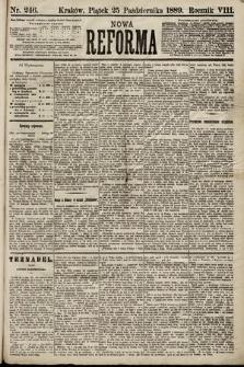 Nowa Reforma. 1889, nr246