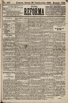 Nowa Reforma. 1889, nr247
