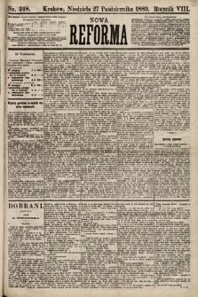 Nowa Reforma. 1889, nr248