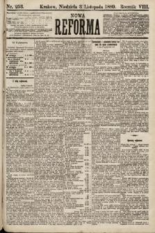 Nowa Reforma. 1889, nr253