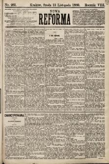 Nowa Reforma. 1889, nr261