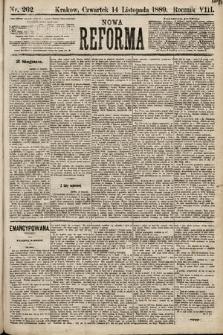 Nowa Reforma. 1889, nr262