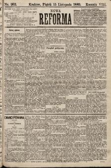 Nowa Reforma. 1889, nr263