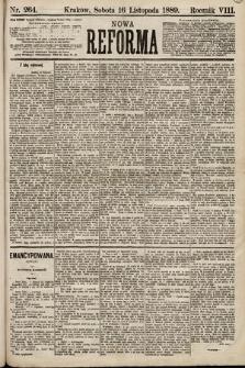Nowa Reforma. 1889, nr264