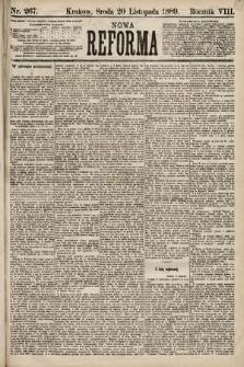 Nowa Reforma. 1889, nr267