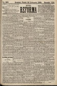 Nowa Reforma. 1889, nr269