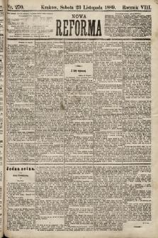 Nowa Reforma. 1889, nr270