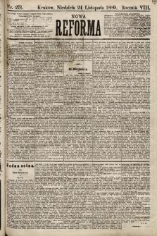 Nowa Reforma. 1889, nr271